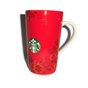 Starbucks Red Holiday Christmas Mug 2013